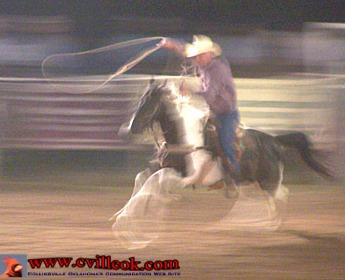 Collinsville Rodeo August 14 2008 Collinsville Ok