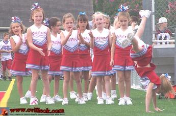 3rd Grade White Football Vs Stillwater September 12