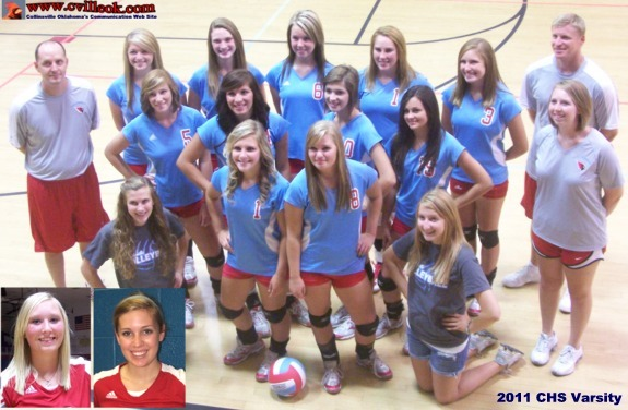 Chs 2011 Volleyball Team Photos August 2 2011