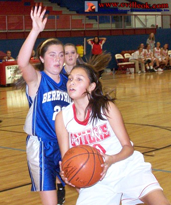 8th Grade Basketball Girls Vs Berryhill November 8