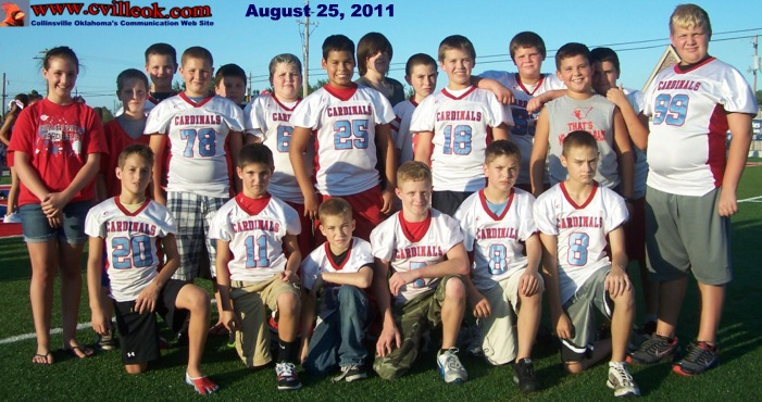 6th Grade Football Vs Owasso October 8 2011