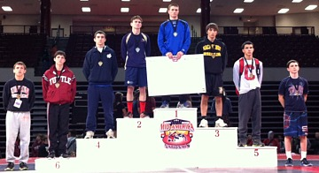 Chs Wrestlers At Mid America Nationals December 8 2012