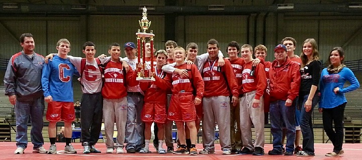 Chs Wrestlers 1st At Kansas City Tournament December 15