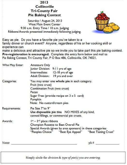 Columbia County Fair Pie Contest  Hudson Valley