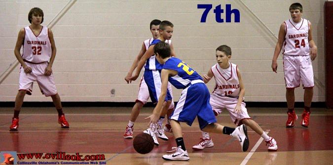 JrHi Basketball -vs- Pryor -- December 15, 2014