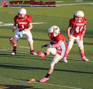 Jim Glover Tulsa >> Youth Football -- 6th Grade -vs- So. Tulsa -- October 4, 2014 -- Collinsville, OK -- www ...