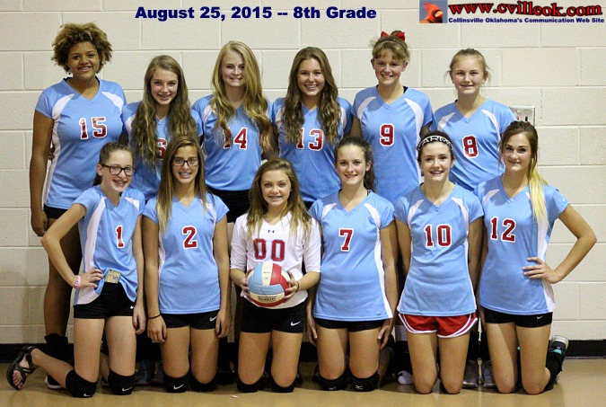 8th Grade Volleyball Vs Tahlequah August 31 2015