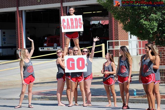 Cheer Car Wash -- July...