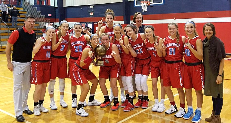 CHS Girls Basketball -- December 15, 2016 -- Collinsville ...