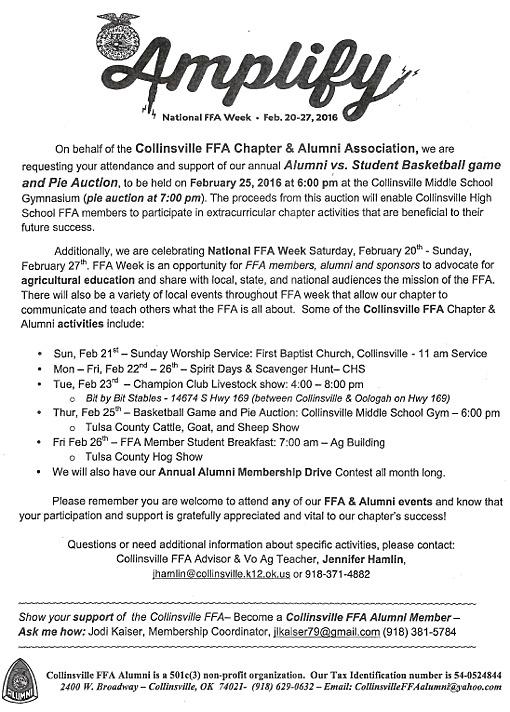 ffa week -- february 2016 -- collinsville  ok