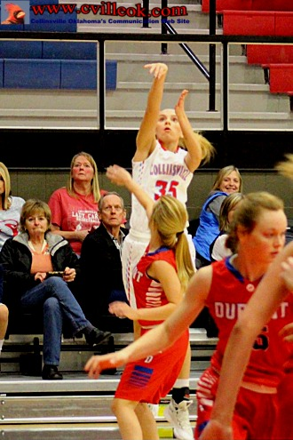durant girls Tipton, iowa — there wasn't much else the durant girls basketball team could have done.